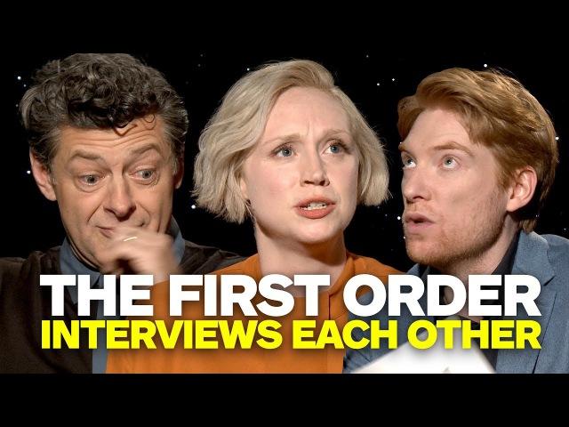 Star Wars' Phasma, Snoke, Hux Interview Each Other