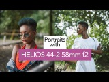 Shooting NATURAL LIGHT portraits with HELIOS 44-2 58mm f2 and FUJIFILM X-T2