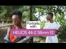 Shooting NATURAL LIGHT portraits with HELIOS 44 2 58mm f2 and FUJIFILM X T2