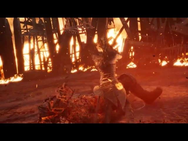 Hellblade: Senua's Sacrifice - изи мочканул первого босса (pc) · coub, коуб