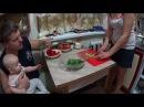 Вторая часть 31.12.2016 Приготовление салатов к столу Жизнь в деревне
