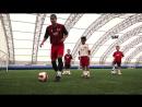 Детская футбольная тренировка AC Милан Урок 2