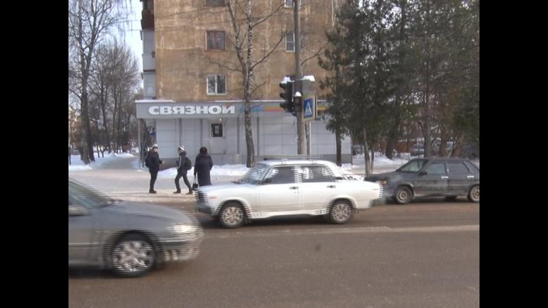 Бехтеревский перекрёсток водители пропускают пешехода нарушителя