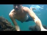 Съемки под водой и на яхте. Черное море