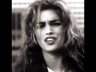 Cindy Crawford's House of Style commercial for MTV, 1992