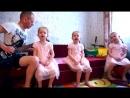 папа и красавицы дочки