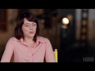 Emma stone  steve carell in battle of the sexes (2017)  hbo first look