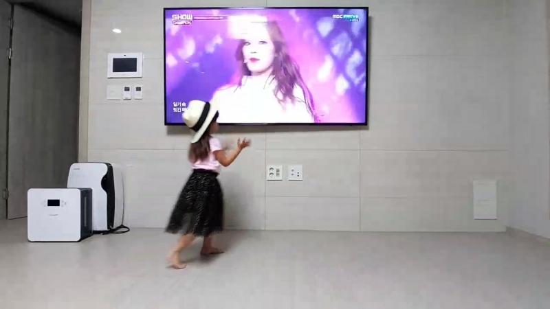 Милла танцует под k-pop