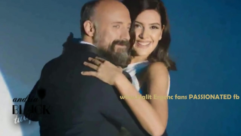Halit Ergenc and Berguzar Korel are dancing- GIFT CREATION -Halit is singing Sway with me...