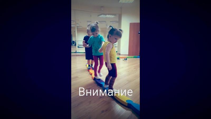 Фани-фитнес. Занятия для малышей 2-4 лет.