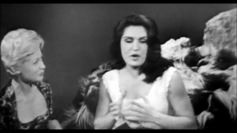 Dalida - La cavatine de Figaro de lopéra de Rossini Le barbier de Séville (01.11.1958 Rendez-vous avec)