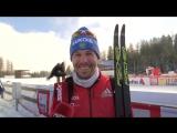 Сборная России по лыжным гонкам поздравляет с Новым Годом (декабрь 2017)