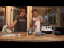 Joey Birlem Charles Gitnick — SMOOTHIE CHALLENGE!! First Video