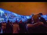 Фестиваль света на  Дворцовой площади. 5.11.2017