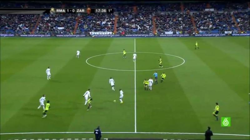 Реал Мадрид - Сарагоса. Чемпионат Испании 2009-2010. 15 тур. HD 720p