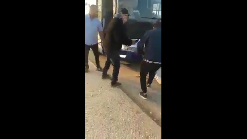Bitch slap of the year 2018 goes to this Palestinian man