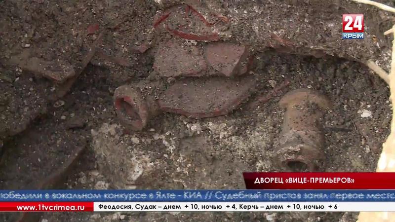 Симферополь, улица Воровского. До недавних пор это место было просто пустырем, но теперь территория археологических раскопок
