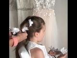 Нежная причёска для милашки