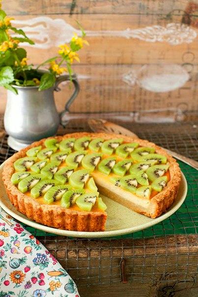 Киви пирог рецепт с