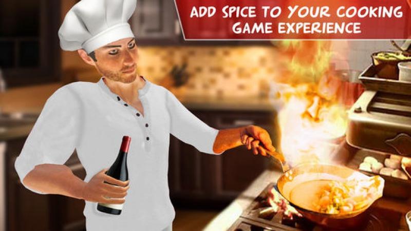 Поляковский Летсплей🐶 Virtual Chef Cooking Game 3D🍖🍗🍕 (Повар Хулиган)