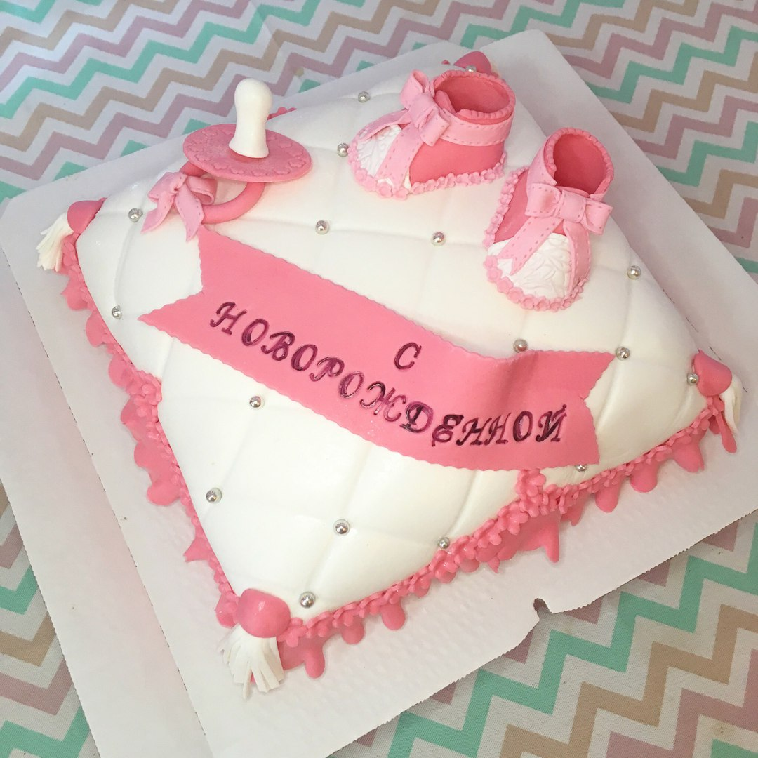 Торт для девочки (арт. 0007)