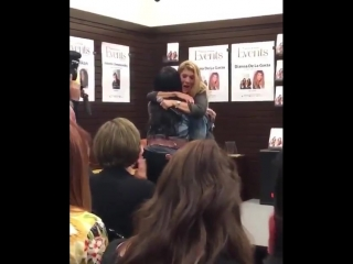 """Demi Lovato at Dianna De La Garza's """"Falling with Wings"""" book signing at The Grove in Los Angeles, CA - March 8"""