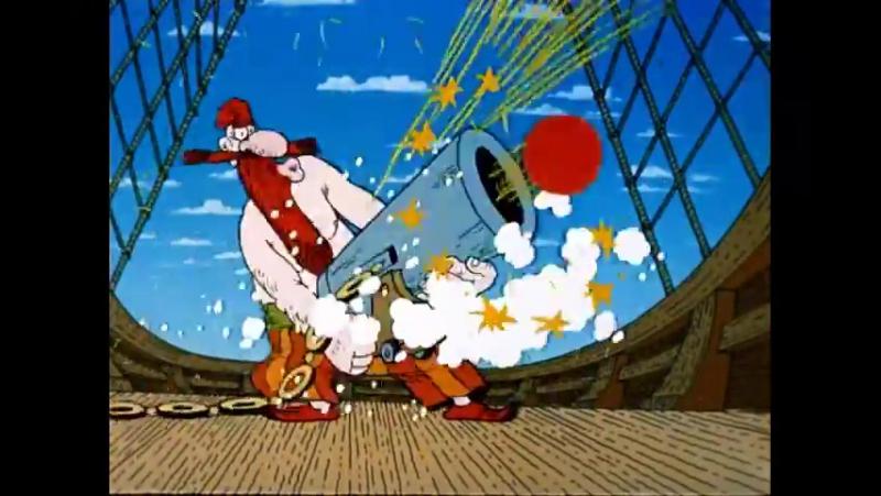 Остров сокровищ Капитан Смоллетт Они заряжают пушку!