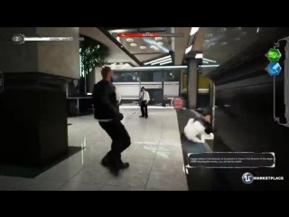 [UE4] Marketplace - Close Combat: Fighter (style of Max Payne and john wick)