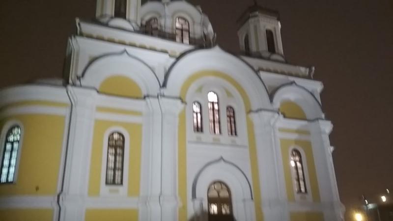 Колокольный звон. Храм Святой Троицы. Санкт-Петербург.