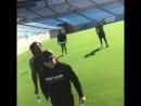 Td5 and the stadium crew got that work done today. @cjgeorgia99 @shaqthompson @kk_mr99 @run__cmc 👈🏾swipe left