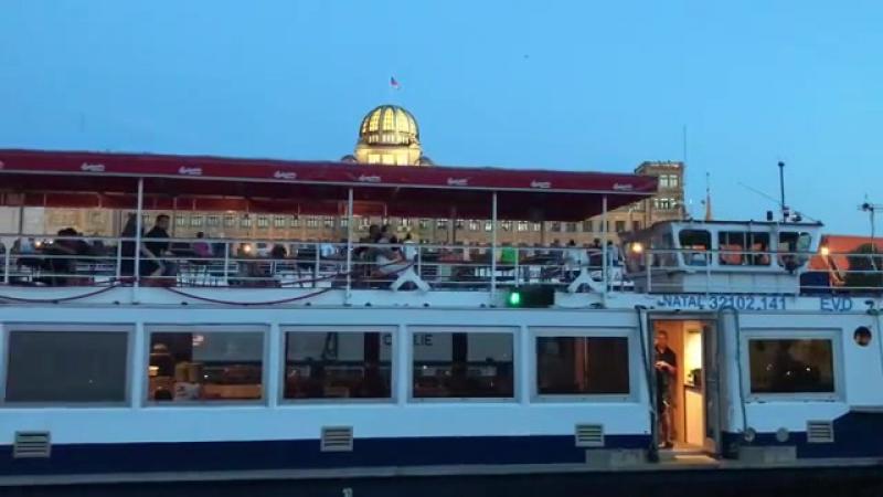 Последний день в Праге - ужин на корабле корабль... Купить свечи в Казани 20.06.2017