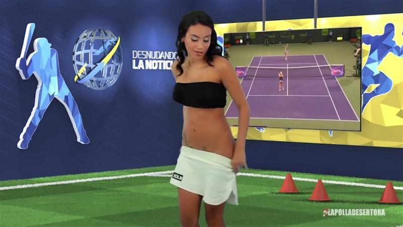 Видео Desnudando La Noticia - Resumen del 04 al 08 de mayo 2015. Ведущие раздеваются. Голые девушки. Не секс sex, не порно porn
