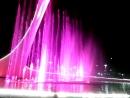 Красная поляна. Поющие фонтаны где зажигали Игали олимпийский огонь