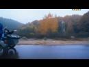 Бородач на мотоцикле