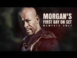 Morgan's Worlds Collide: Join Morgan's first day on the set of Fear the Walking Dead.