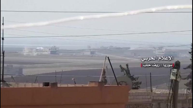 Larmée syrienne fait exploser une colline clé dans le sud dAlep malgré les contre-attaques des rebelles