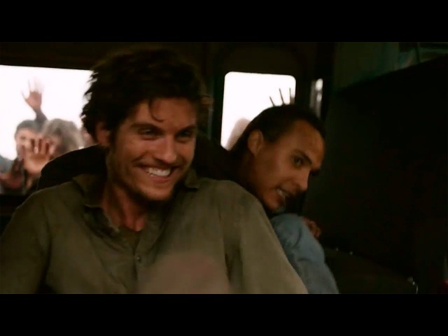 Fear The Walking Dead    Troy and Nick try to distract the horde   Season 3 Episode 13