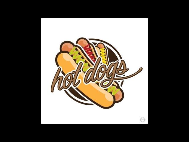 Хот-дог. 2 Начинки и Острый соус Hot Dog. 2 Toppings and Hot Sauce