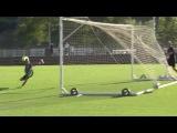 Красивый гол Патрика Шика на тренировке / AS Roma