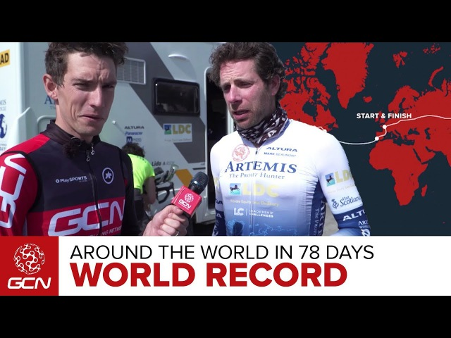 Mark Beaumont Around The World In 78 Days!