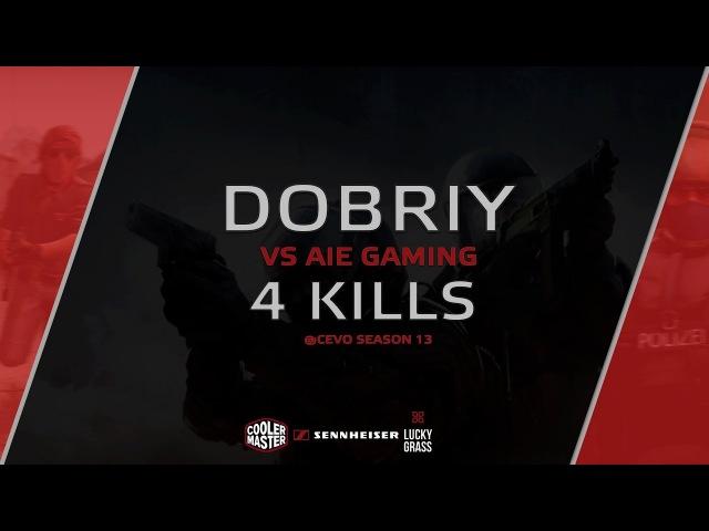 Quad-kill by dOBRIY vs. AIE Gaming @CEVO Season 13