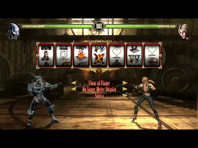 Mortal Kombat: Komplete Edition - Test Your Luck - Cuber Sub-Zero [HD-60fps]