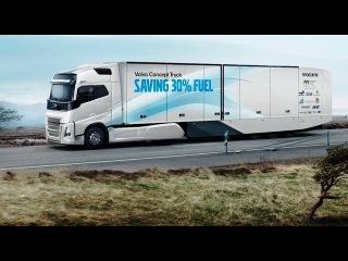 Концепт супер экономичного автопоезда Volvo Trucks