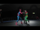 Batman and Robin vs Spider-Man #coub, #коуб