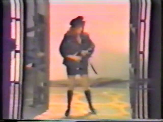 Съёмки клипа Аллы Пугачёвой - Осенний поцелуй /1992 год