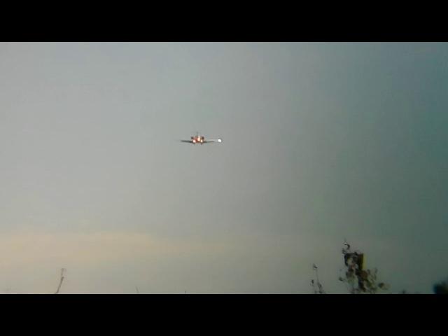 CRJ-200 Rusline VP-BVD посадка аэропорт Курск-Восточный
