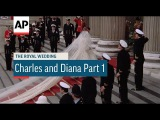 Charles &amp Diana Wedding in 4K  Part 1  arrivals at St Paul's Cathedral  1981