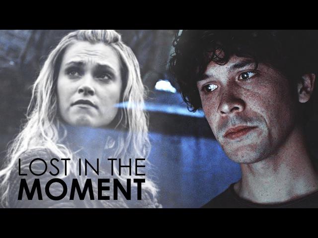 Lost in the moment. 「bellamy clarke」