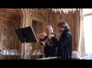 Sergei Nakariakov Otto Sauter rehearsing Enjott Schneiders Dreamdancers double concerto