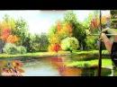 Часть 5 Как нарисовать дерево на переднем плане Ольга Базанова
